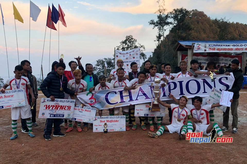 Hosts Kummayak Sporting Club Wins Title Of 3rd Kummayak Gold Cup