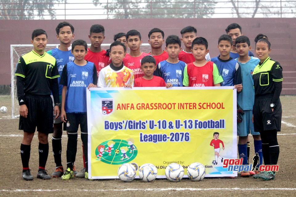 Anfa Grassroot Inter School Football League 2076