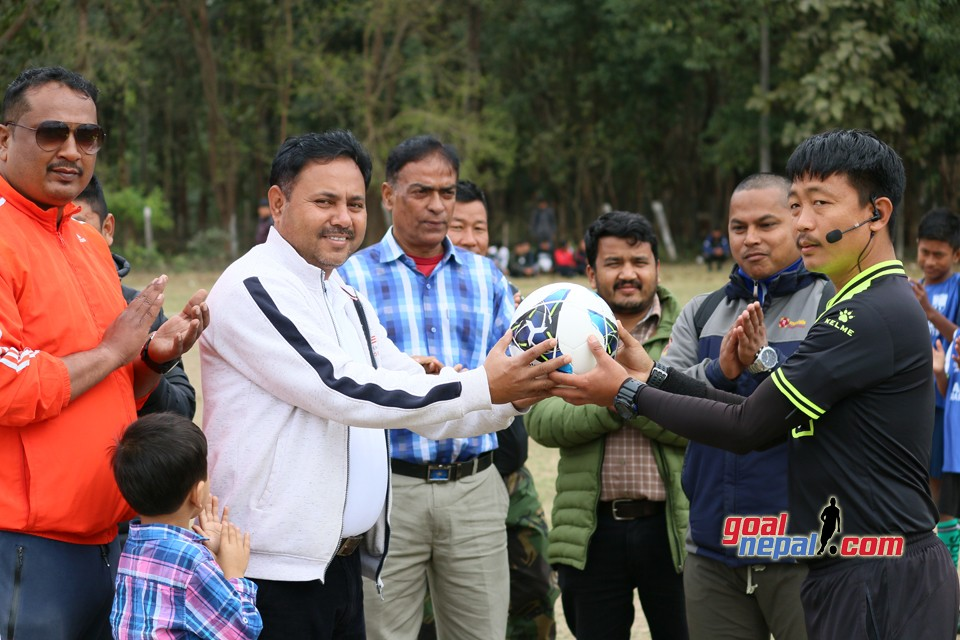Sunsari: Province No. 1 Grassroots League Football tournament