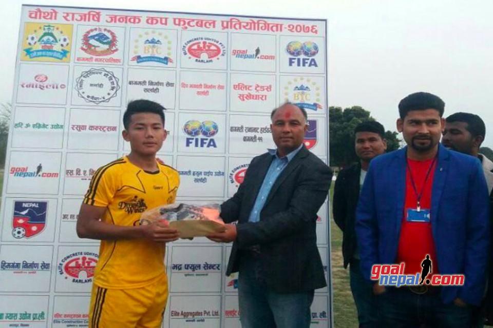 4th Rajarshi Janak Cup Kicks Off