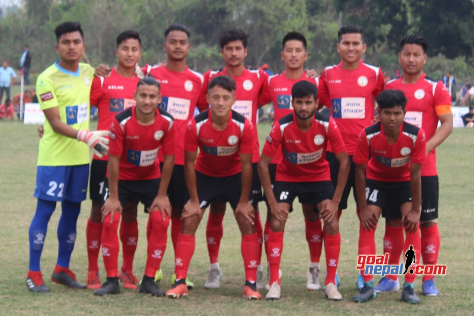 Nepal Police Beats BUC To Enter SFs Of 4th Rajarshi Janak Cup