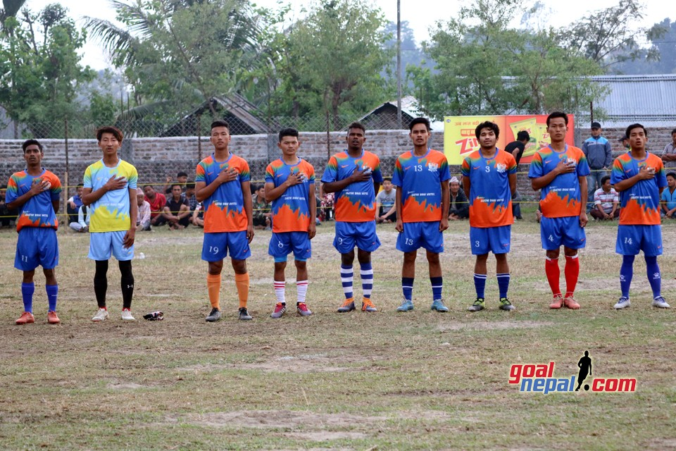 Wai-Wai District Level Football : Jhapa FC Vs Sanishchare FC