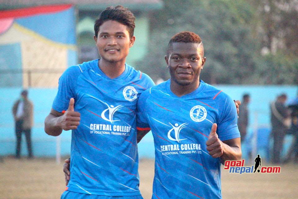 8th Pharsatikar Cup: Central College BFC Enter FINAL
