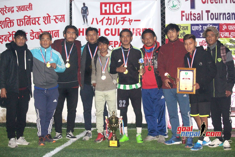 Host Green Field Win The Title Of 1st Green Field Open Futsal Championship
