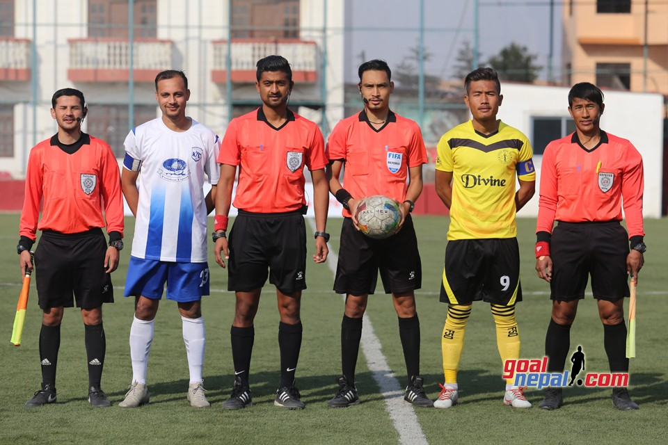 Martyr's Memorial B division League :- Khumaltar Youth Club Vs Boys Union Club
