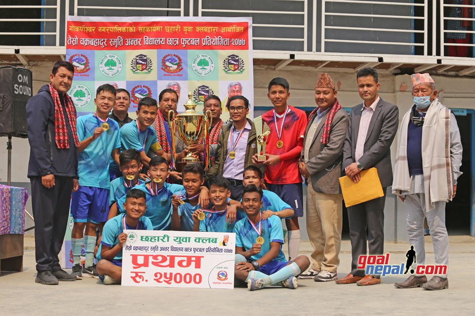 3rd Chakra Bahadur Memorial Inter School Tournament Closing Ceremony