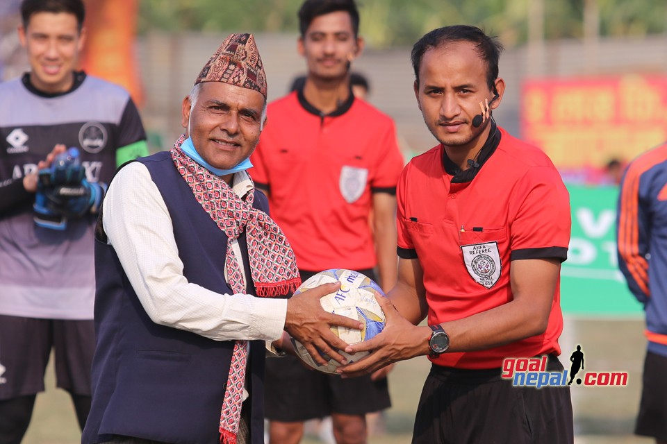Kalika Gold Cup: Hanami Everest  Club Vs APF, Bhandara
