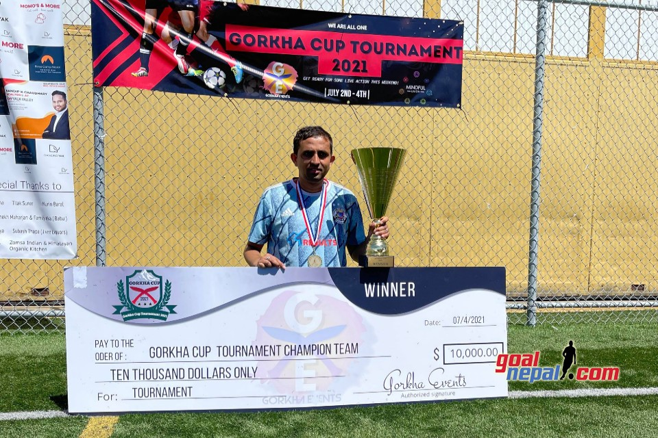 USA: BYSC Wins Title Of Gorkha Cup 2021