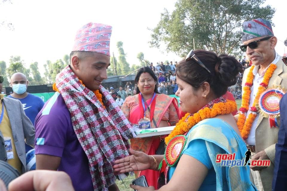 Laxmi Marga Belbari Gold Cup: Chyasal Club Vs Rolling Club, Jhapa