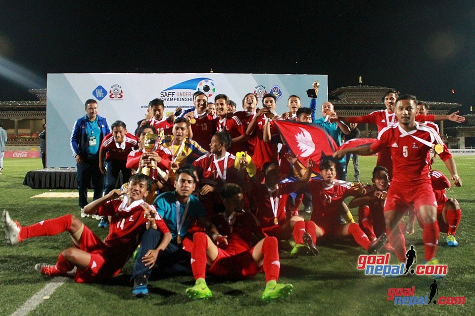 SAFF U18 Championship: Nepal Beats India To Win The Title