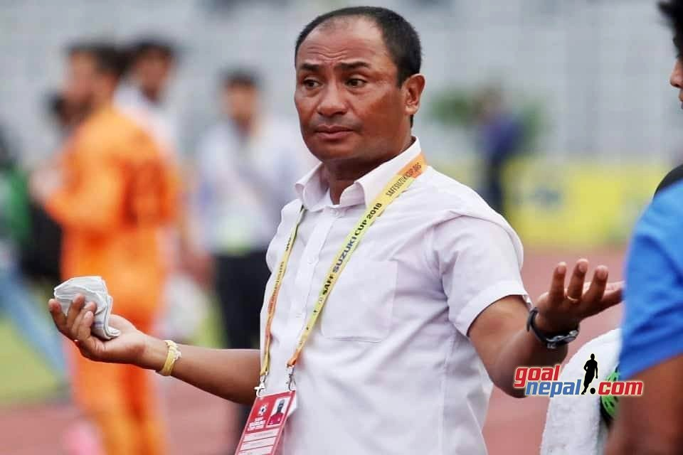 NEPAL COACH BAL GOPAL MAHARJAN - MUST WIN MATCH AGAINST BHUTAN