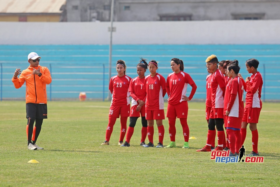 Nepal Women's Team Is Ready For Sri Lanka