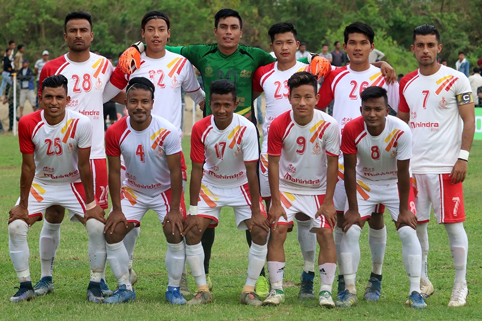 Nepal APF Enters QFs Of 3rd Rajarshi Janak Cup