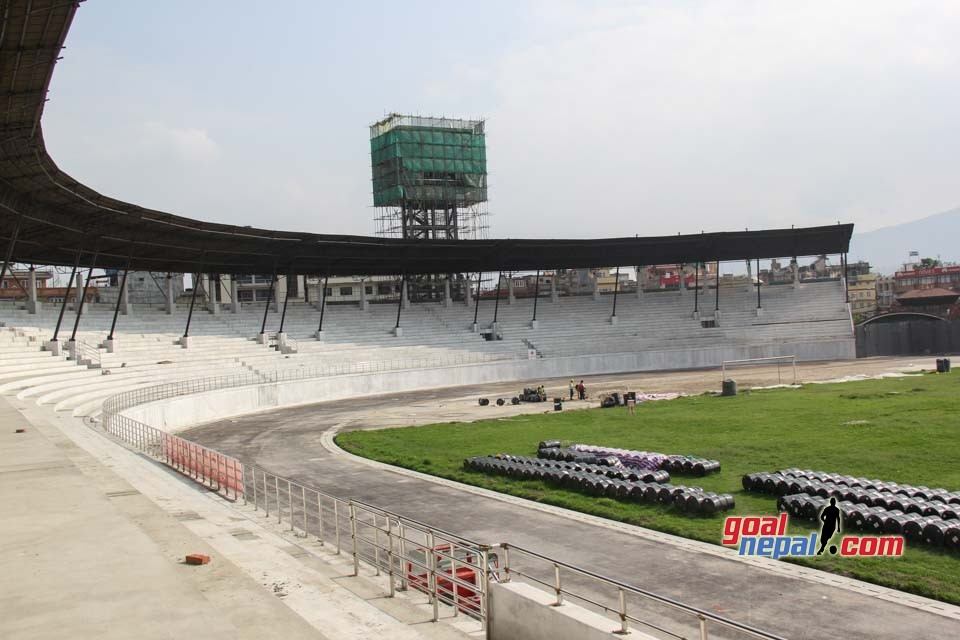 Renovation of Dasharath Stadium In Last Phase