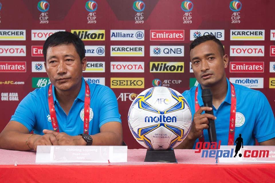 MMC Vs Chennayin FC - PRE MATCH MEET