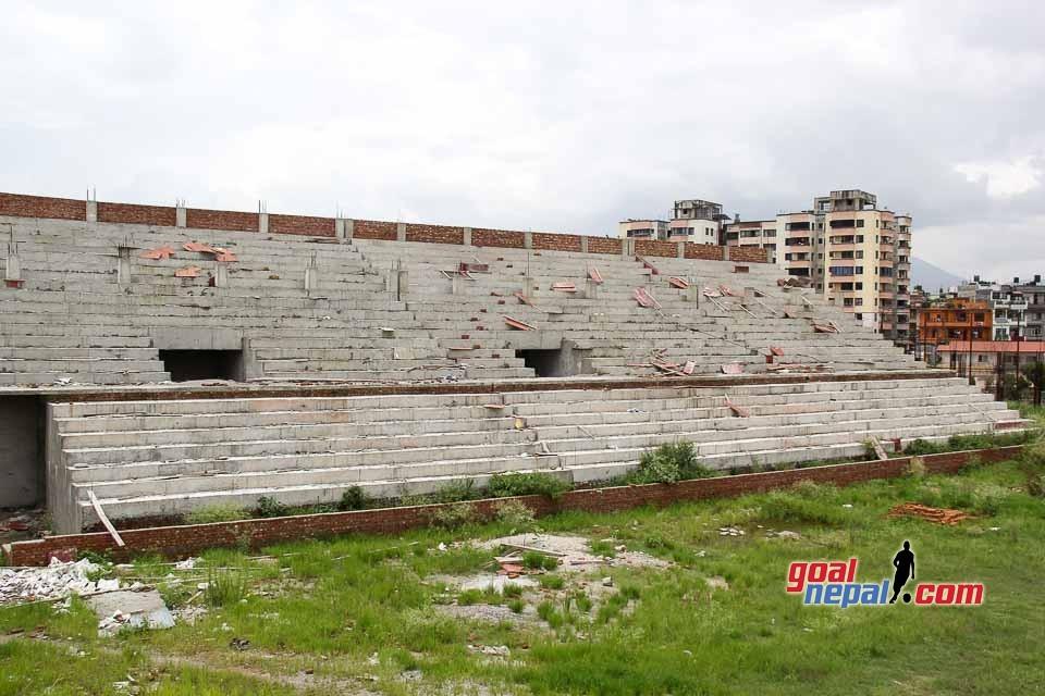 VERY VERY SLOW CONSTRUCTION OF CHYASAL STADIUM | 10K SEATER