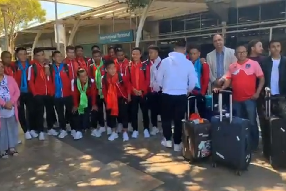 Nepal National Team Lands Sydney, Australia
