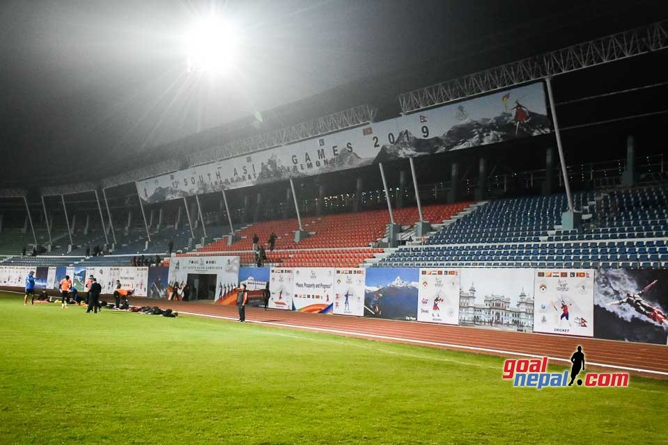 Dasharath Stadium Is Almost Ready To Host 13th SA Games