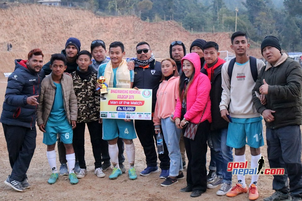 JALTHAL FC JHAPA ENTERS FINAL OF 2nd BHAGIMAN SINGH CUP