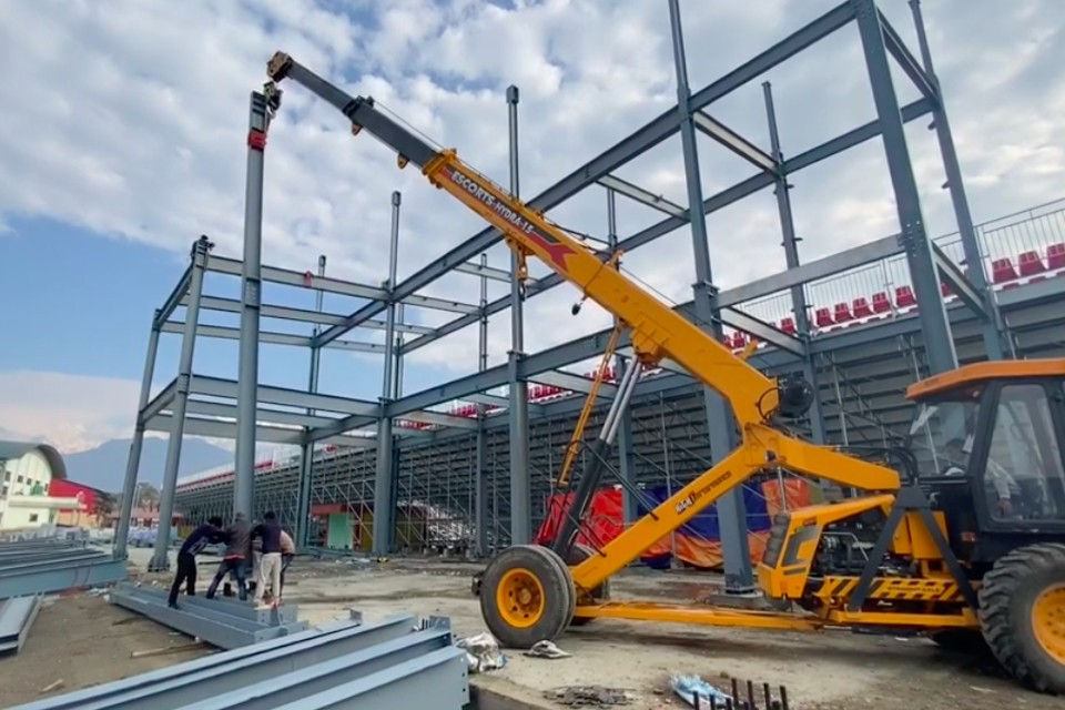 Construction Of Pokhara Stadium Post SA Games 2019 Gains Pace
