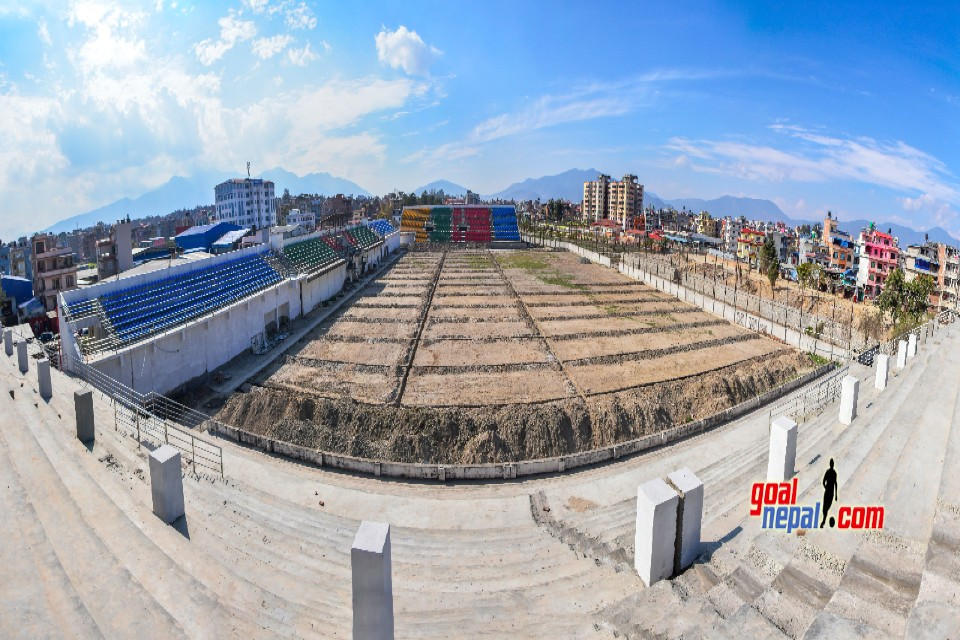 Construction Of Chyasal Stadium Is In Final Phase