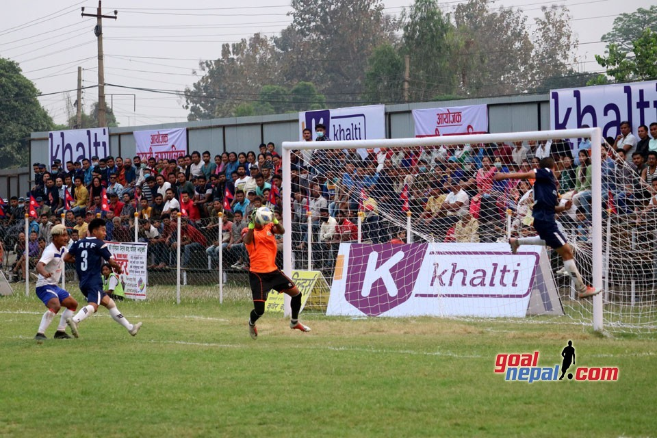 5th Rajarshi Janak Cup: Nepal APF Vs Central College Bharatpur FC