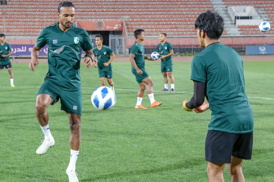 Second Training Session Of Team Nepal In Kuwait City